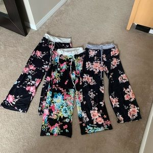 Other - 3 Pairs of Palazzo Pants